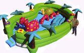 Батут Динозаврики
