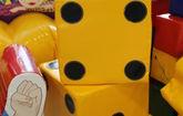 Гигантские игральные кубики