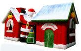 Дом Деда Мороза для выдачи подарков