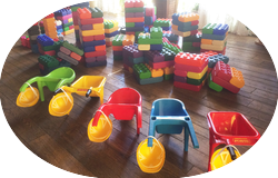 Детская зона с Мега-Лего