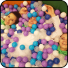 Детская игровая зона на новогоднем празднике