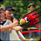 Angry Birds - аттракцион Злые Птицы