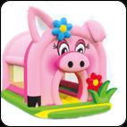 Батут Веселая Свинка