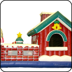 Батут Дом Деда Мороза