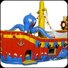 Батут Корабль Пиратский