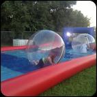 Водный шар с бассейном