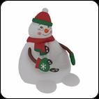 Кресло Снеговик