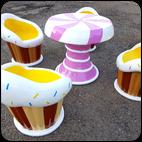 Набор детской мебели Пирожные