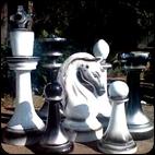 Шахматы ГИГАНТСКИЕ парковые