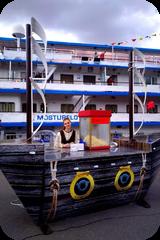 Фудкорт на открытии речной навигации